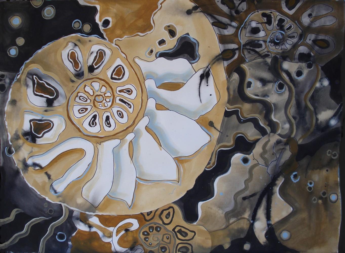 Nautilus original fine art by Margie Whittington