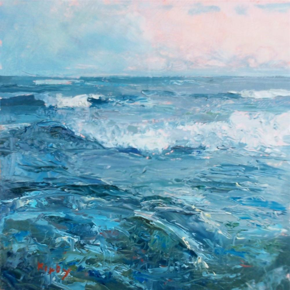 """Rip Tide at 27th"" original fine art by Randall Cogburn"