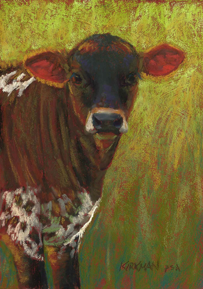 """Scamp"" original fine art by Rita Kirkman"