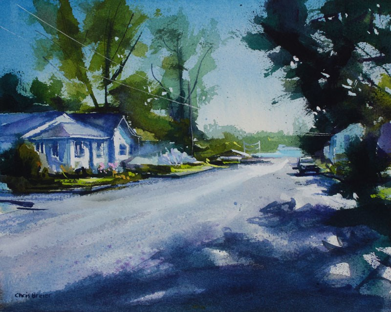 """Ontario Street"" original fine art by Chris  Breier"