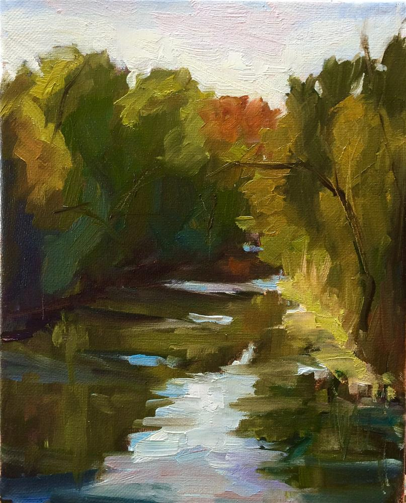 """""""Water Reflexion"""" original fine art by Naomi Bautista"""