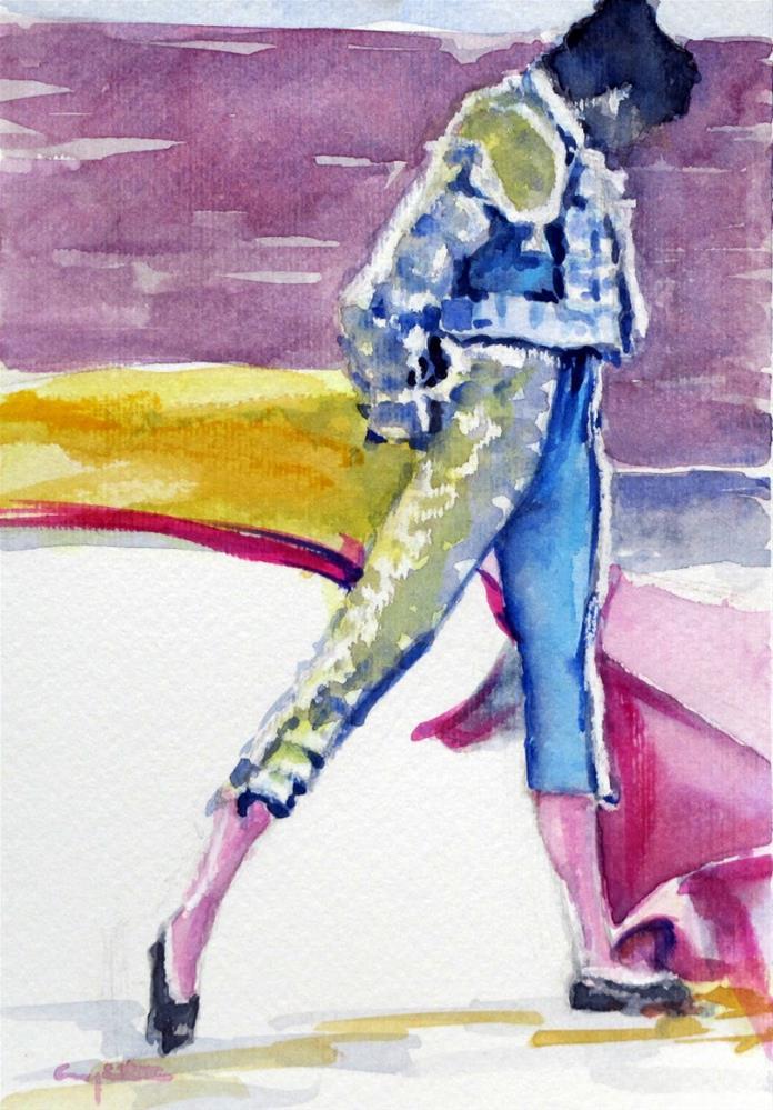 """Revolera"" original fine art by Eduardo Carpintero"