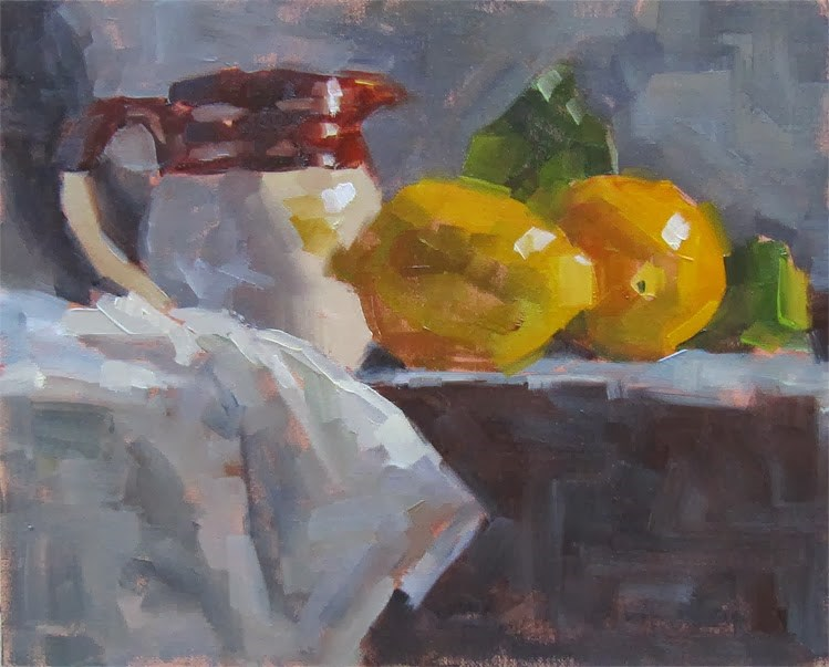 """30 Paintings in 30 Days. Day 24"" original fine art by Katia Kyte"
