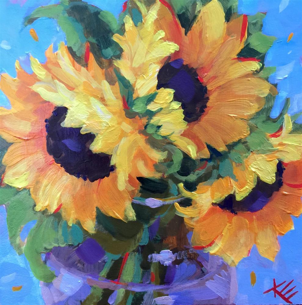 """Summer Wind"" original fine art by Krista Eaton"