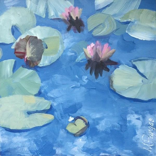 """Monet Monet"" original fine art by Mary Pargas"