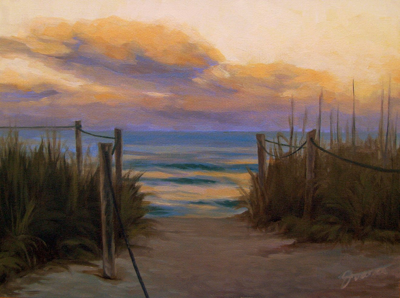 """Tomorrow will Come"" original fine art by Joanna Bingham"