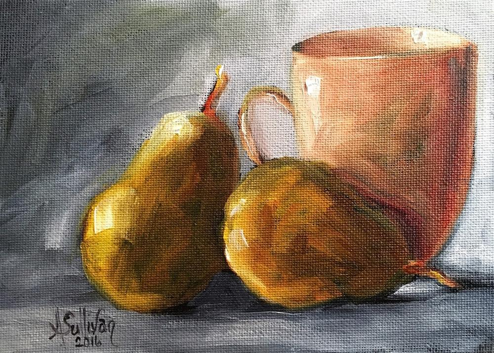 """Plentiful Life still life painting by Alabama Artist Angela Sullivan"" original fine art by Angela Sullivan"