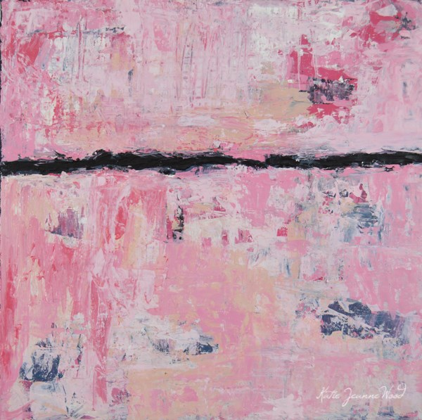 """Abstract No 81"" original fine art by Katie Jeanne Wood"