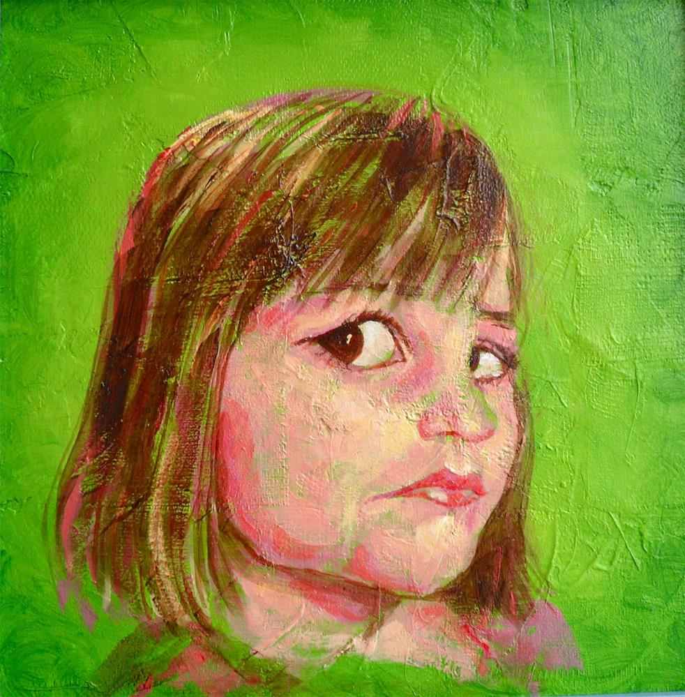 """Annabelle"" original fine art by Karen Roncari"