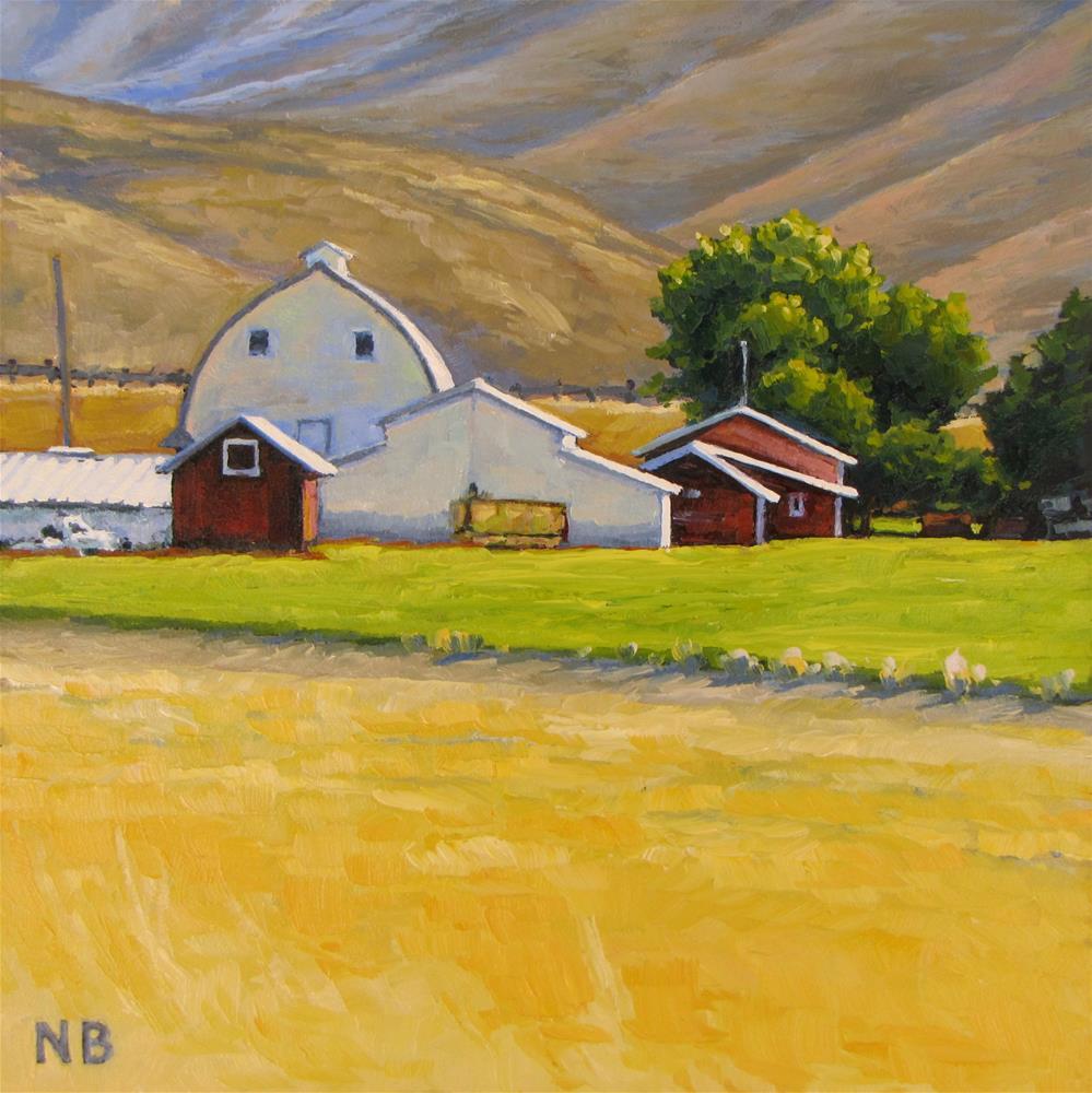 """""""Summer Highlights"""" original fine art by Nora Bergman"""