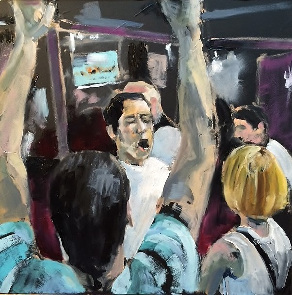 """World Cup Celebration"" original fine art by John Tullis"