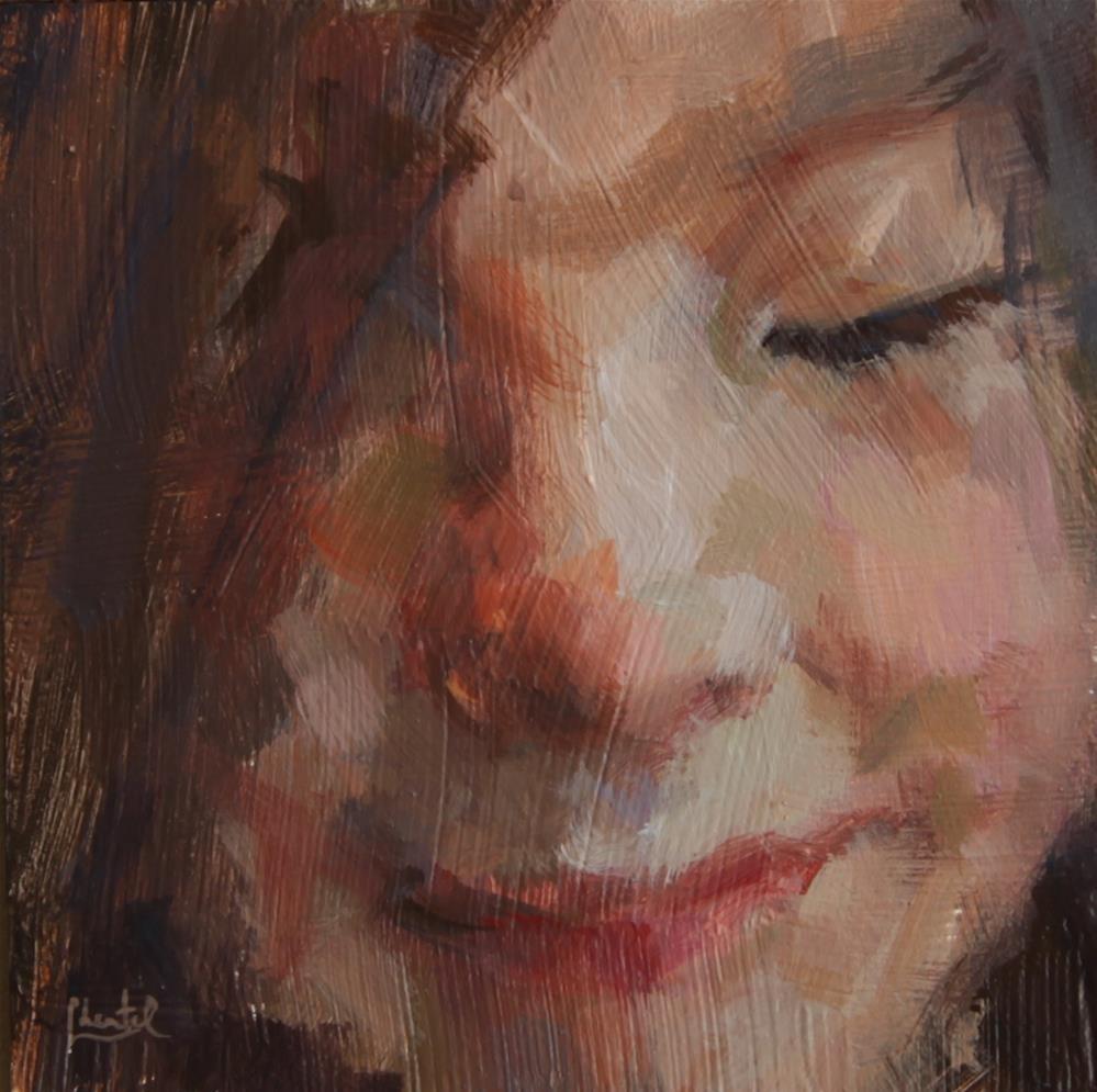 """""""Spontaneous """" original fine art by Chantel Barber"""