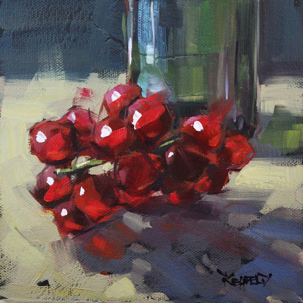 """Sweet, Ripe and Slightly Tart"" original fine art by Cathleen Rehfeld"