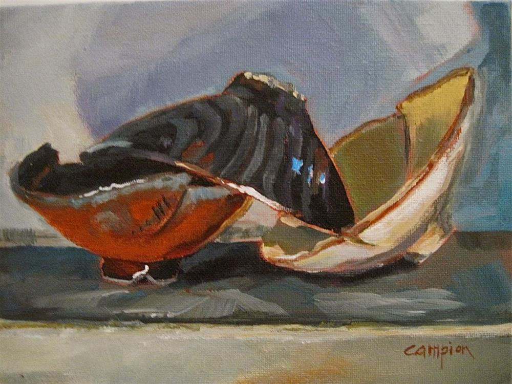 """487 Tipsy"" original fine art by Diane Campion"
