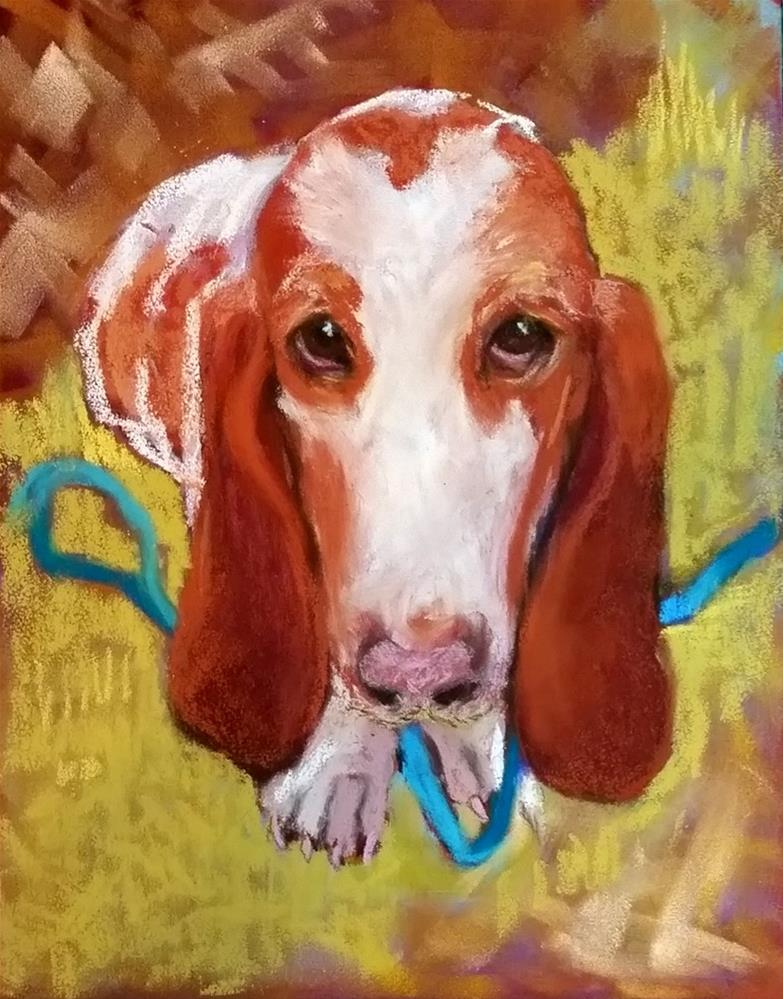 """Ted Bassett"" original fine art by De Selby"