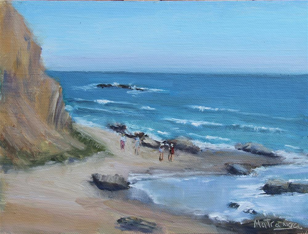 """High Tide -  Crystal Cove"" original fine art by Patricia Matranga"