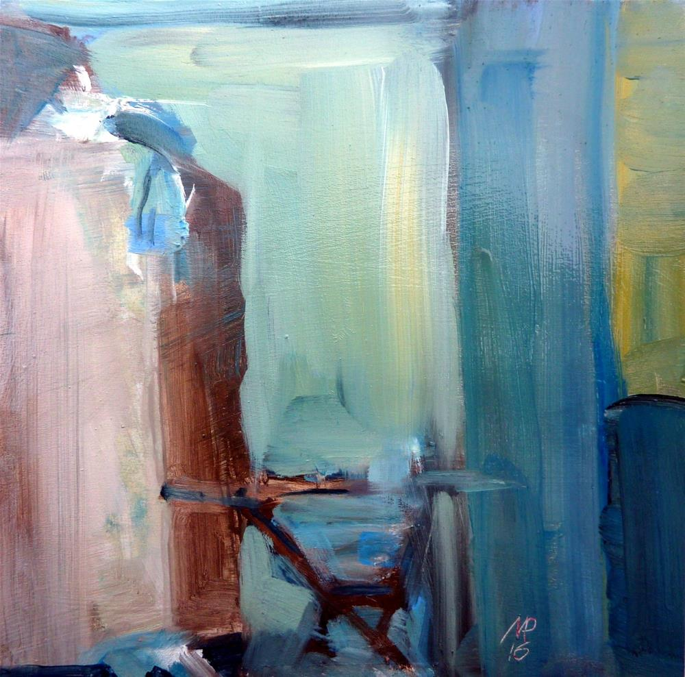 """alter Tisch / old table"" original fine art by Mila Plaickner"