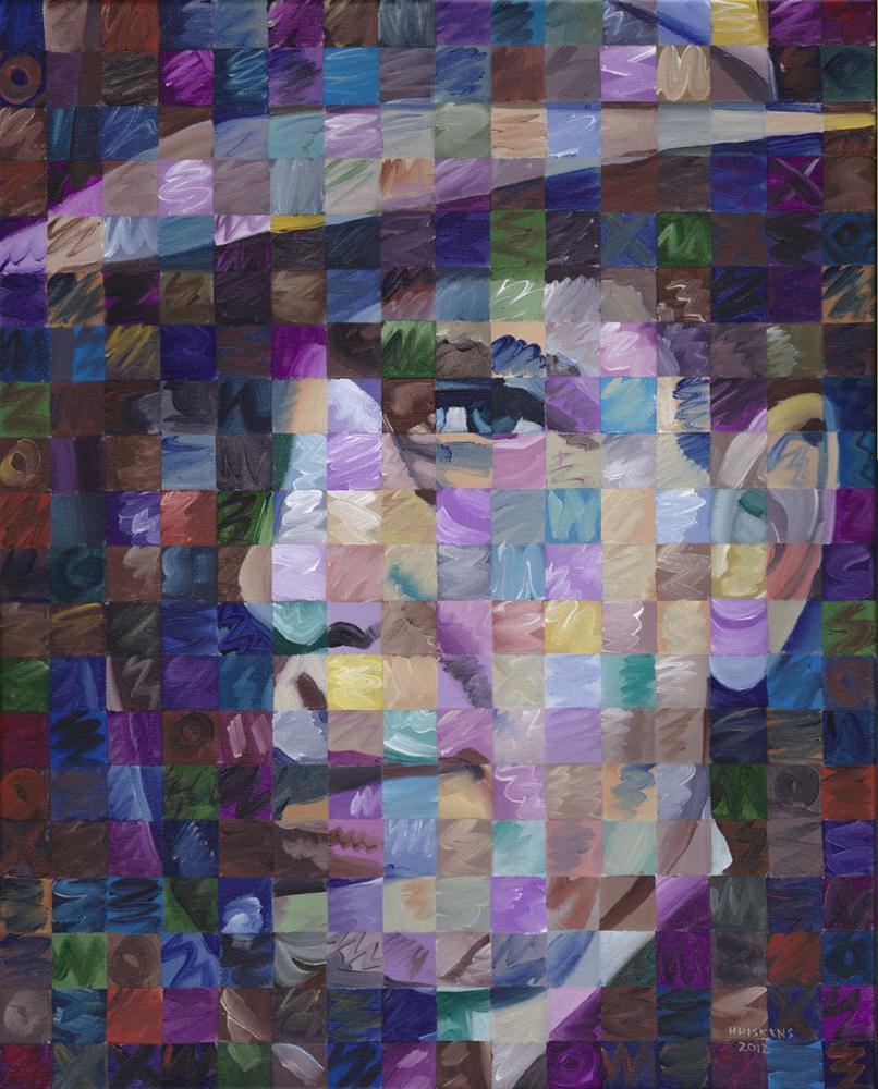 """""""Humphrey Bogart"""" original fine art by Randal Huiskens"""