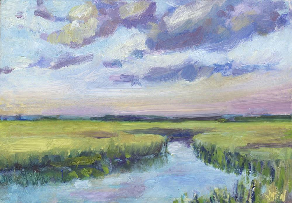 """Clouds are Rolling In"" original fine art by Michel McNinch"