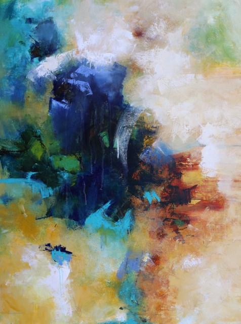 """Effluvium"" original fine art by Elizabeth Chapman"