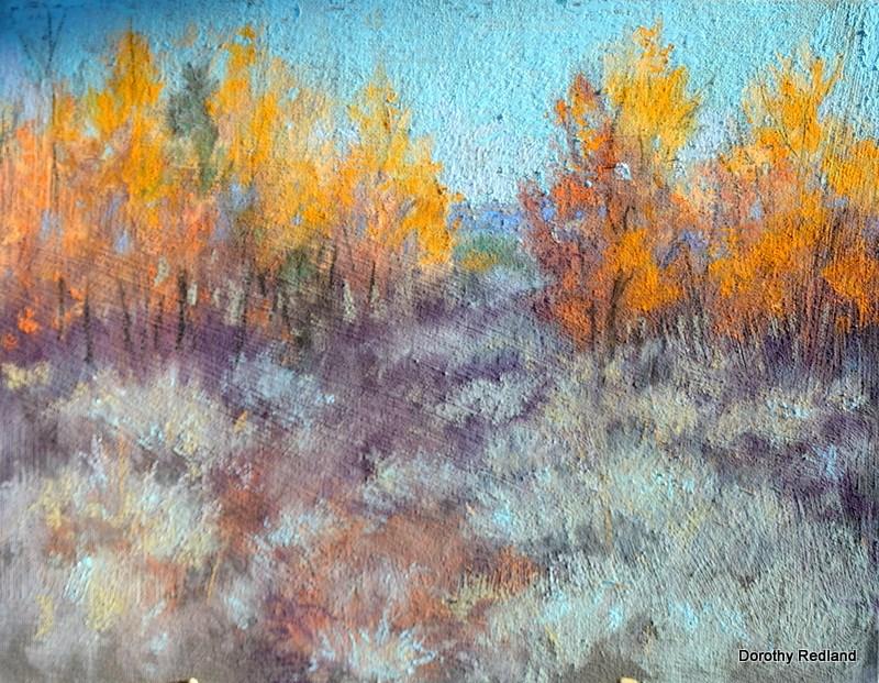 """Wonderful October"" original fine art by Dorothy Redland"
