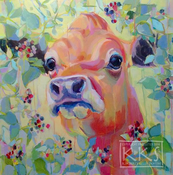 """Beryl"" original fine art by Kimberly Santini"