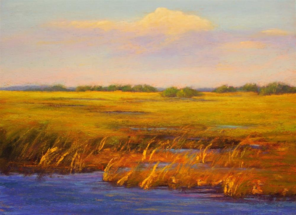 """Sunny Refuge"" original fine art by Sharon Lewis"