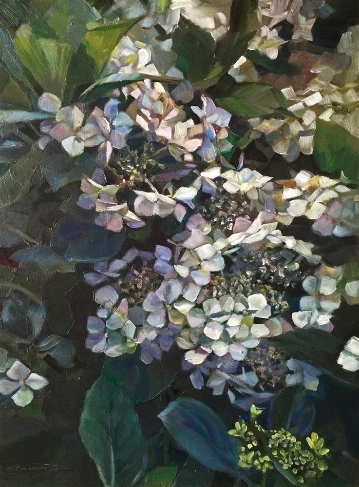 """""""2016/14   Summer Bliss"""" original fine art by Nicoletta Baumeister"""
