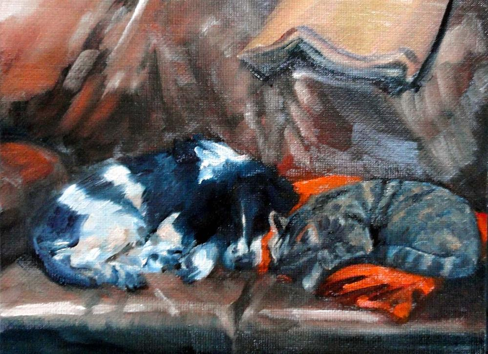 """Peaceable Kingdom, For Now"" original fine art by Cietha Wilson"