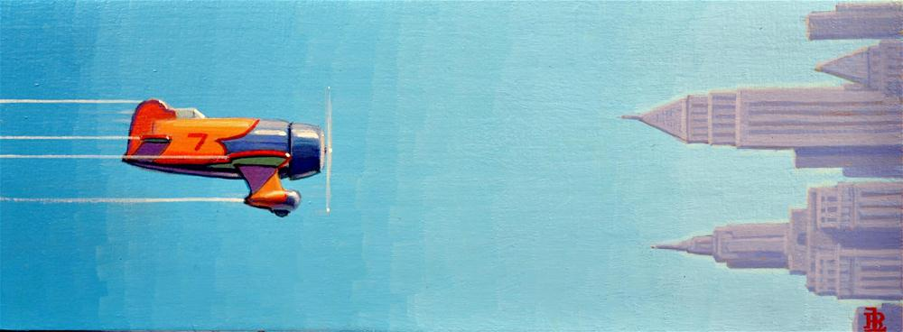"""Clear Blue"" original fine art by Robert LaDuke"