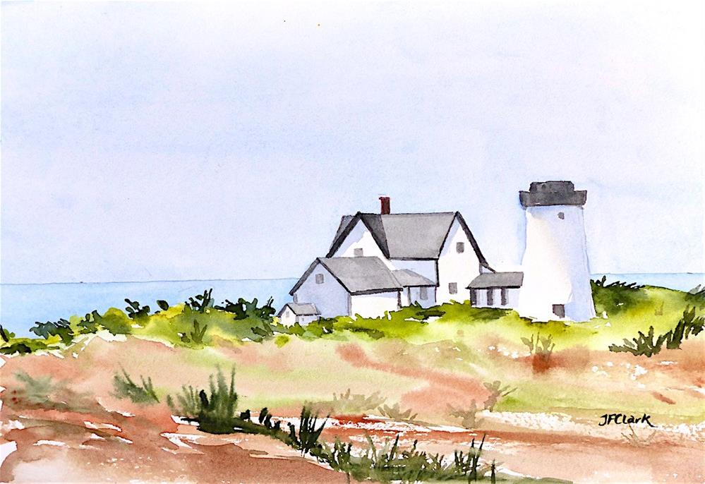 """Sea View"" original fine art by Judith Freeman Clark"