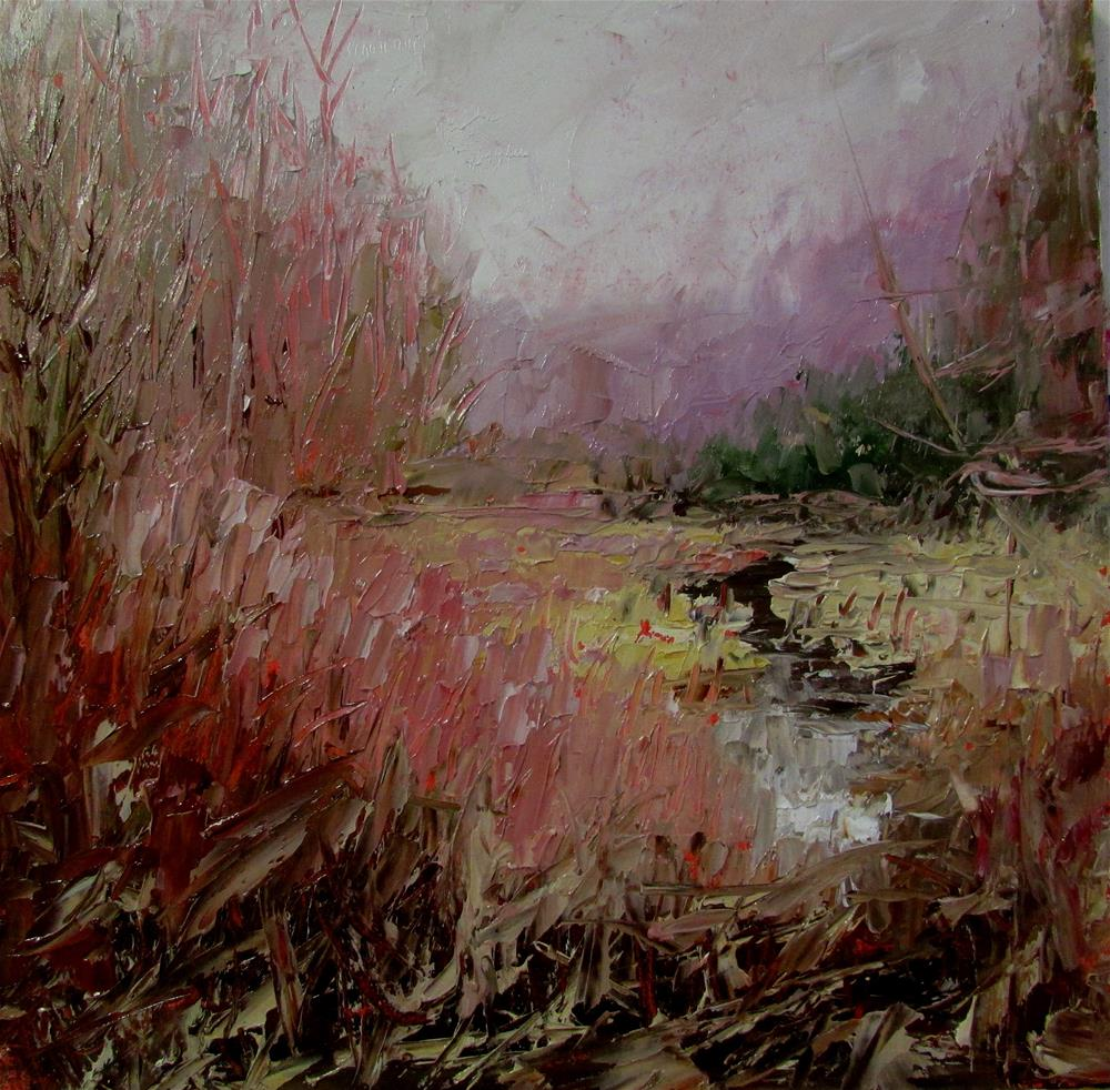 """8 x 8 inch oil"" original fine art by Linda Yurgensen"