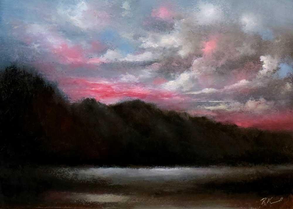 """Wild Sky"" original fine art by Bob Kimball"