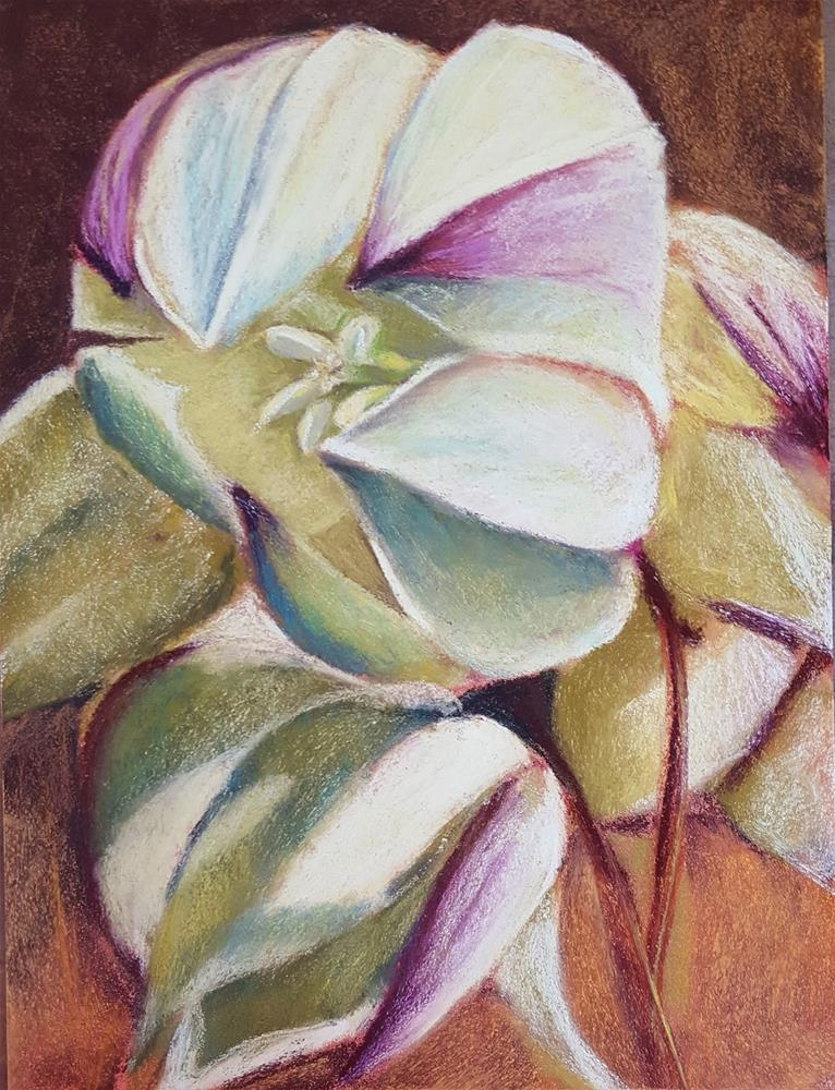 """Yucca Bloom"" original fine art by Anna Lisa Leal"
