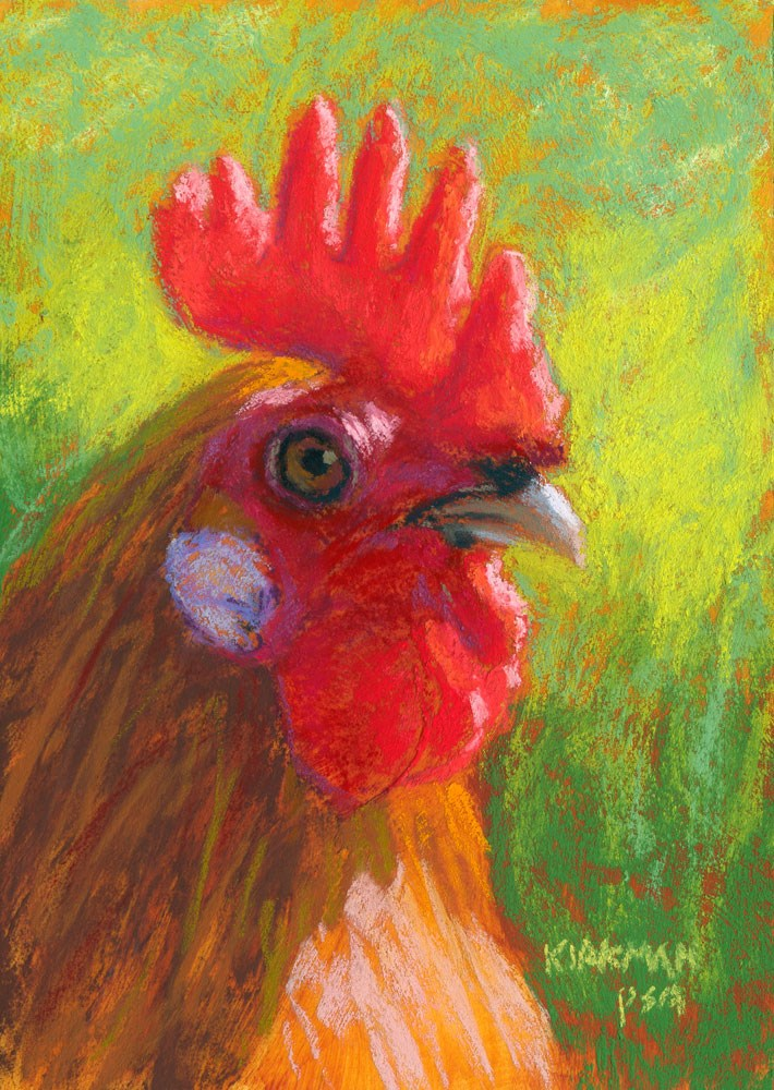 """Mowhawk"" original fine art by Rita Kirkman"