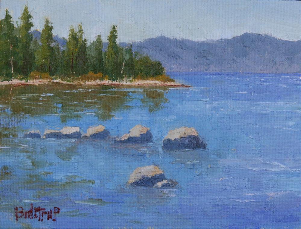 """""""Hurricane Bay"""" original fine art by Mark Bidstrup"""