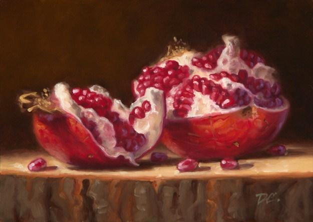 """Opened Up"" original fine art by David Capalungan"