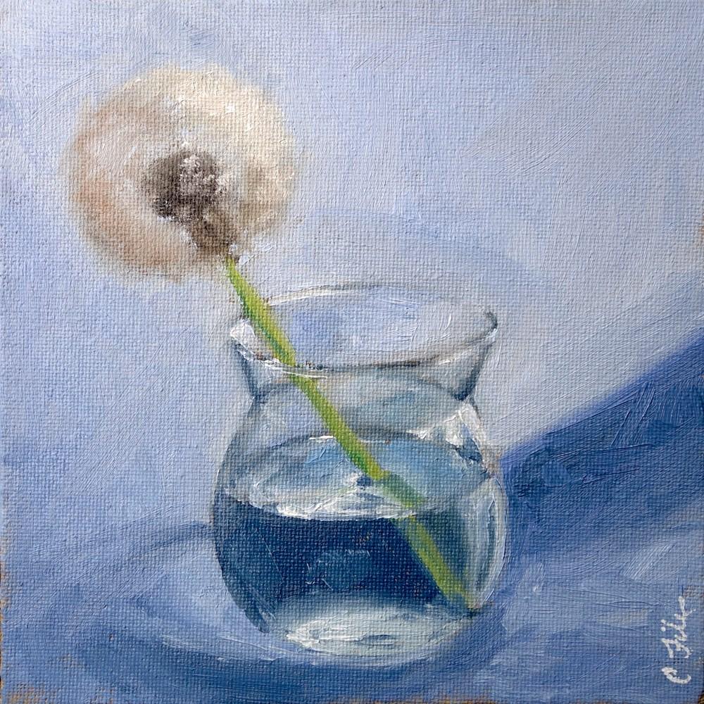 """""""Dandelion"""" original fine art by Chrystale Files"""