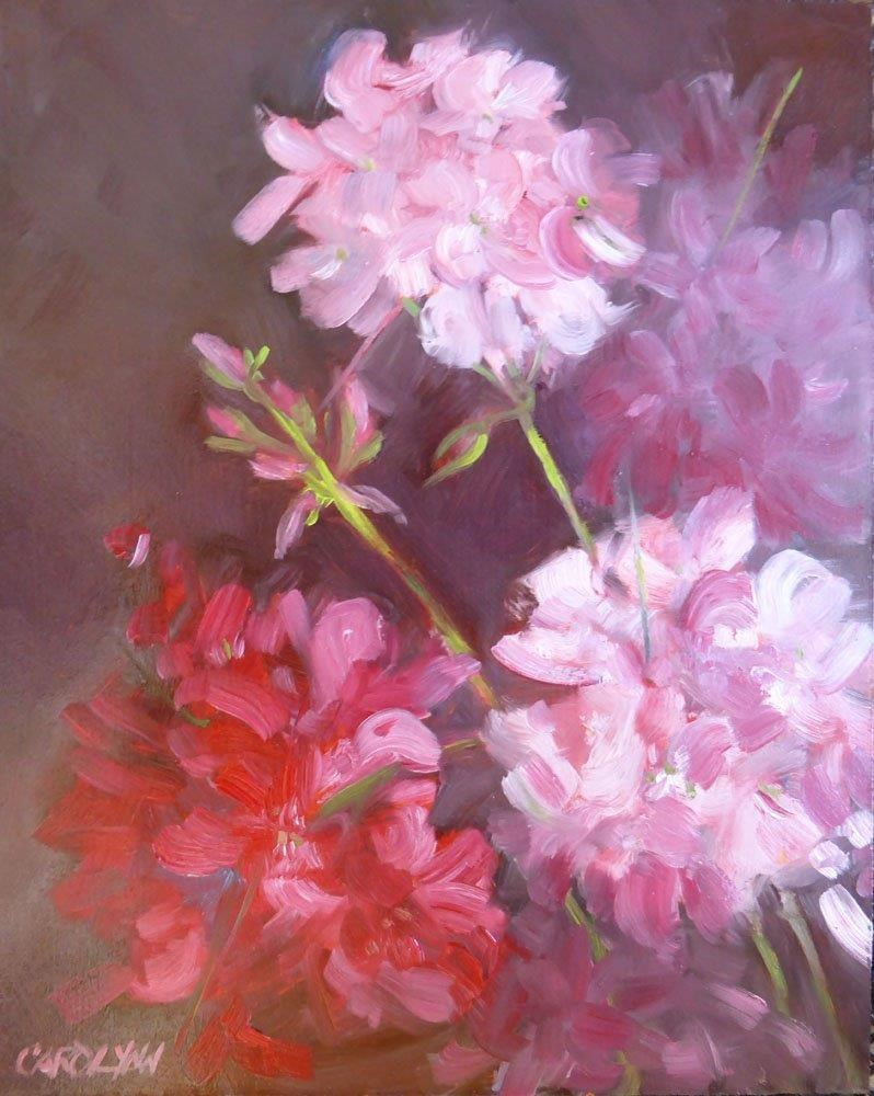 """Colour of Love Revisited"" original fine art by Carolynn Doan"