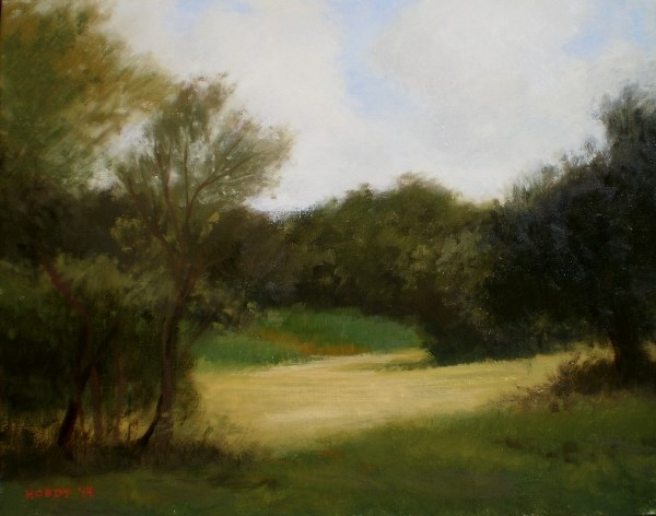 """DWG Pasture"" original fine art by Weston Hobdy"