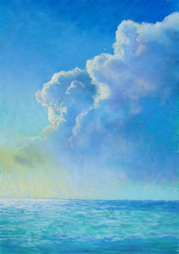 """Summertime Haze"" original fine art by Christine Derrick"