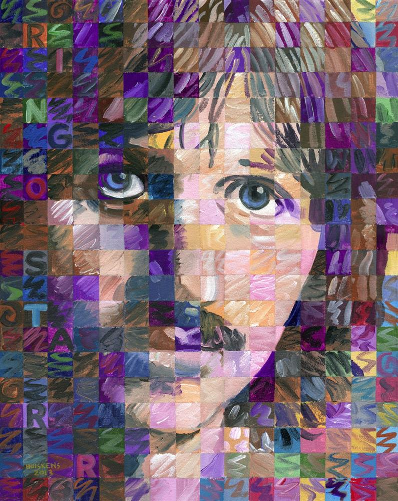 """Ringo Starr"" original fine art by Randal Huiskens"