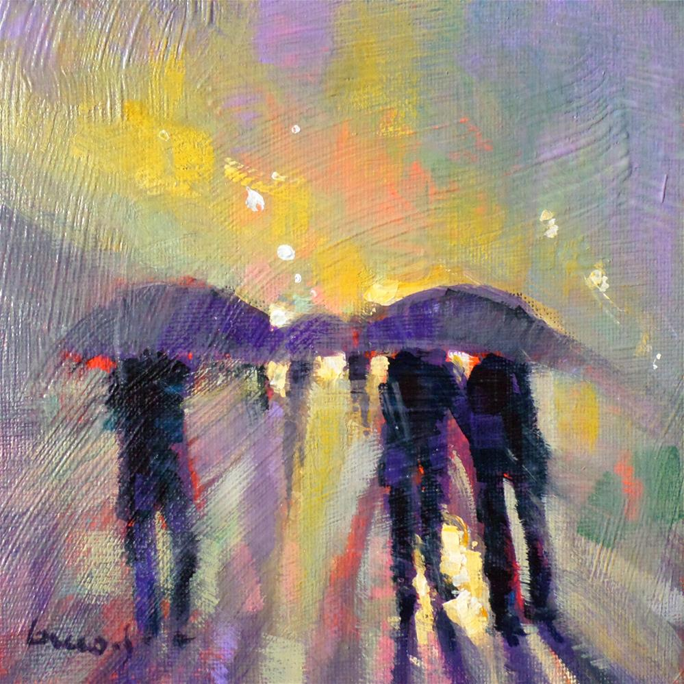 """mists and rains"" original fine art by salvatore greco"