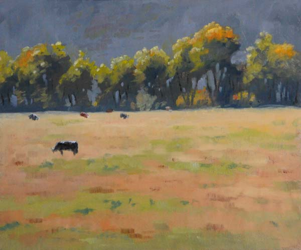 """Foreshadows of Fall"" original fine art by Susan Matteson"