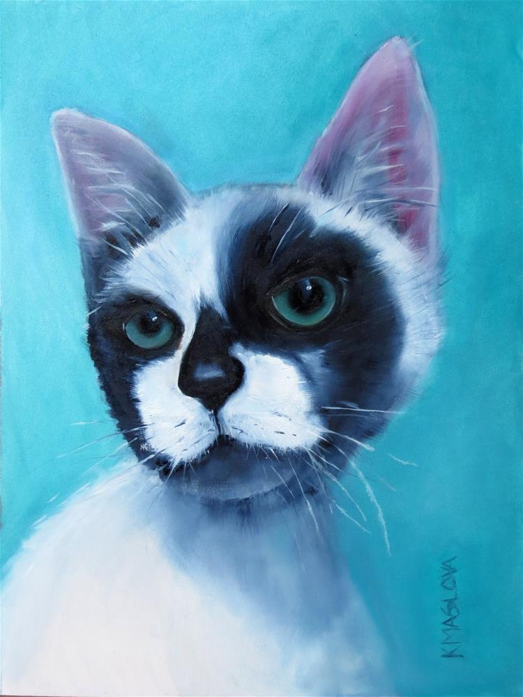 """Robert"" original fine art by Kulli Maslova"