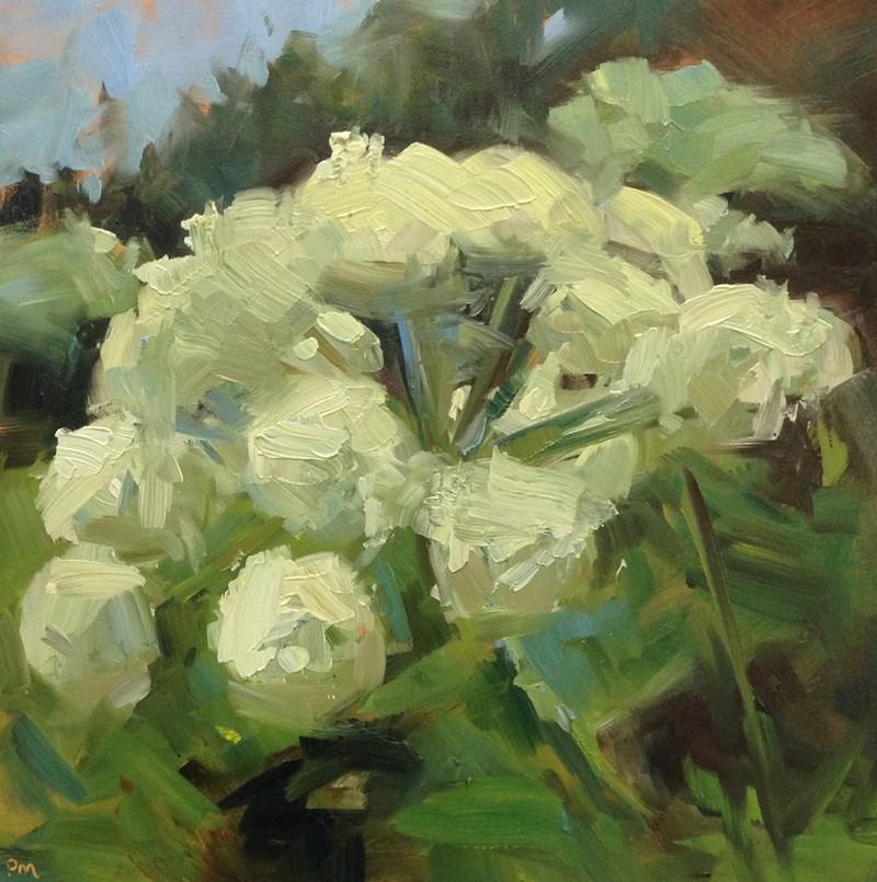 """Queen Anne Lacescape"" original fine art by Patti McNutt"