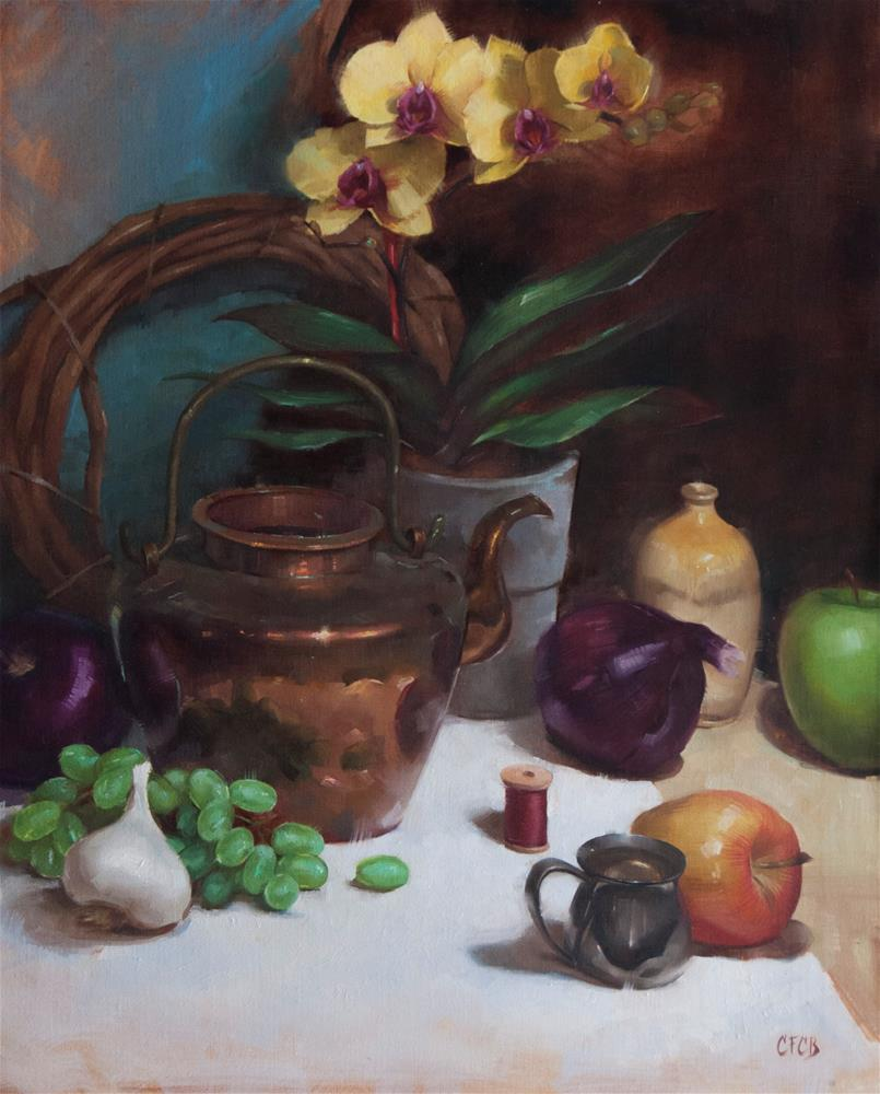 """Copper Kettle"" original fine art by Catherine Bobkoski"