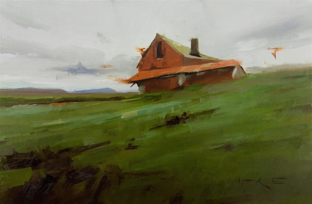 """Minna Hof"" original fine art by Thorgrimur Andri Einarsson"