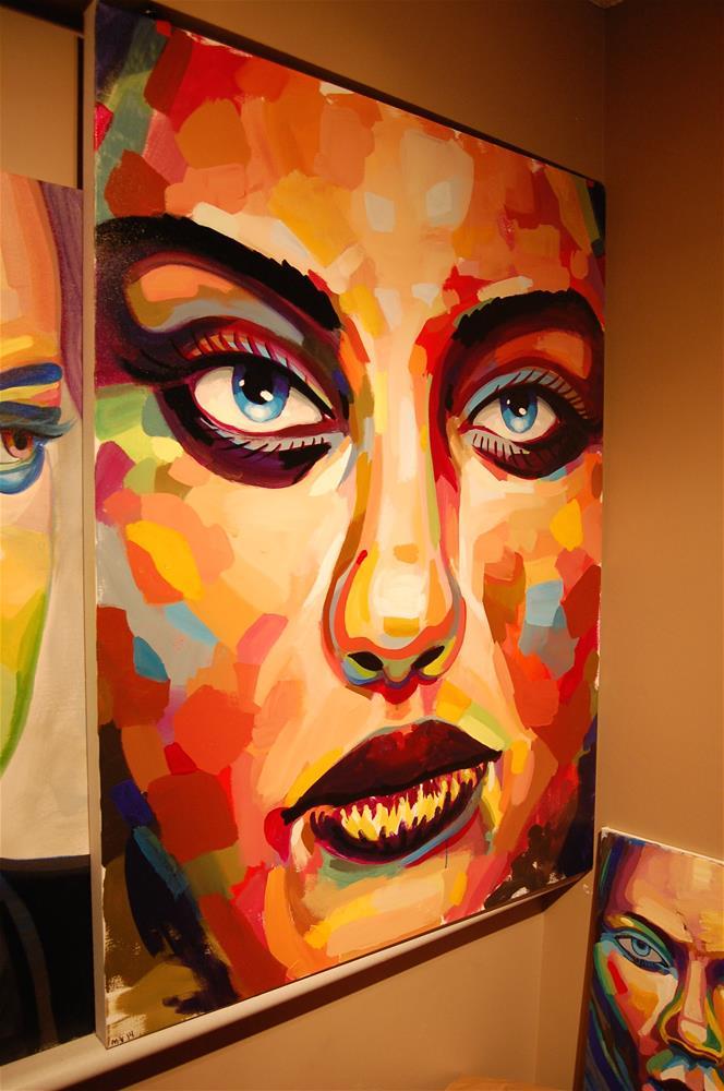 """""""color contact 1"""" original fine art by michael vigneux"""