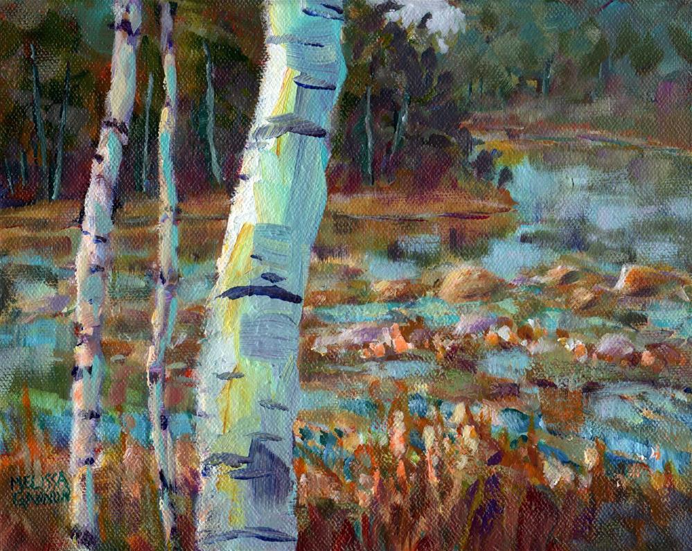 """Summer Magic"" original fine art by Melissa Gannon"